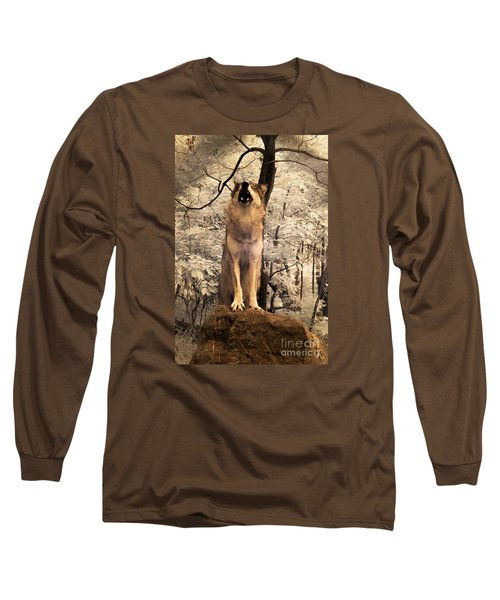 Singing A Soulful Tune Long Sleeve T-Shirt by William Fields