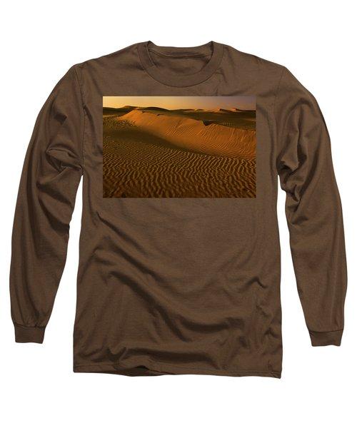 Skn 1127 The Golden Dunes Long Sleeve T-Shirt