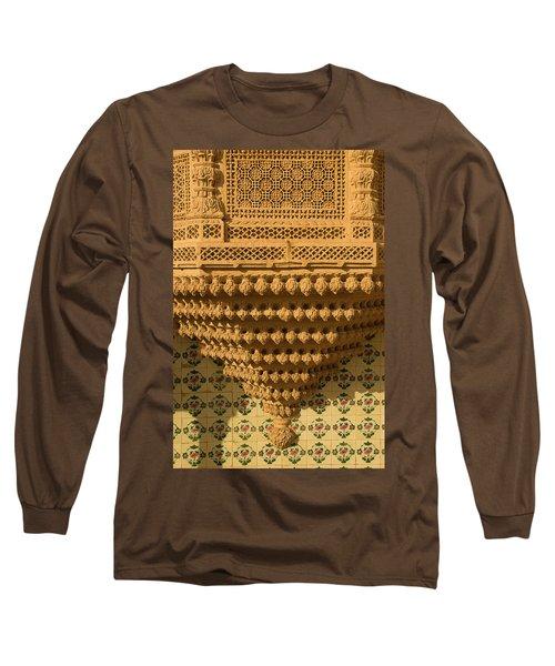 Skn 1323 Endearing Carvings Long Sleeve T-Shirt