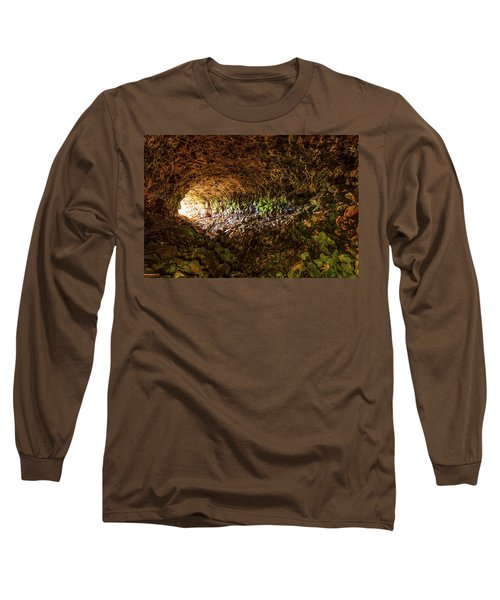Skull Cave Long Sleeve T-Shirt