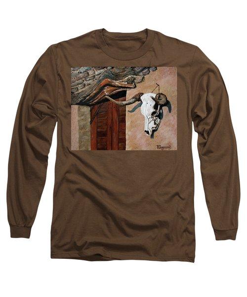 Skull En La Casa Long Sleeve T-Shirt