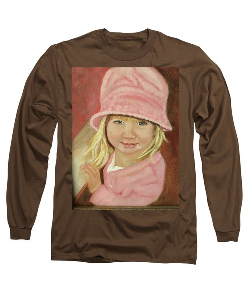 Sky In Pink Long Sleeve T-Shirt by Sharon Schultz