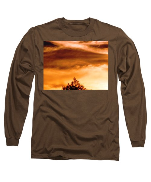 Long Sleeve T-Shirt featuring the photograph Eye Of Jupiter by Melissa Stoudt