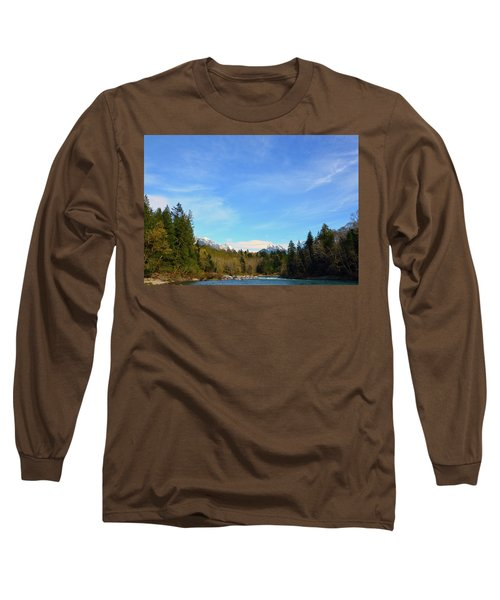 Skykomish River And Persis Long Sleeve T-Shirt