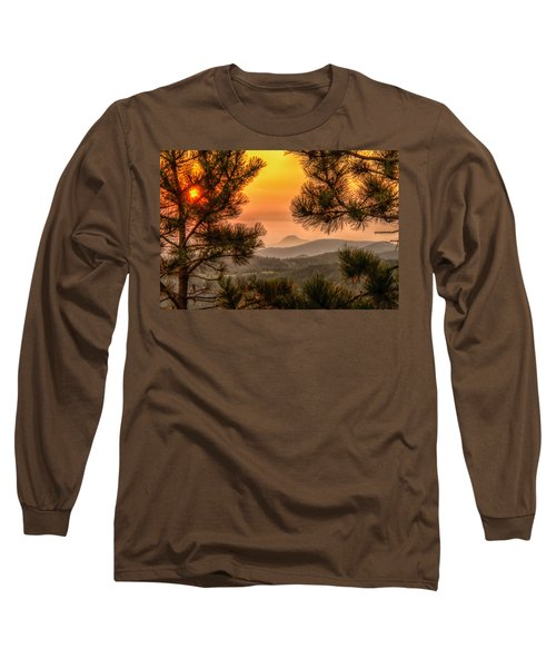 Smoky Black Hills Sunrise Long Sleeve T-Shirt