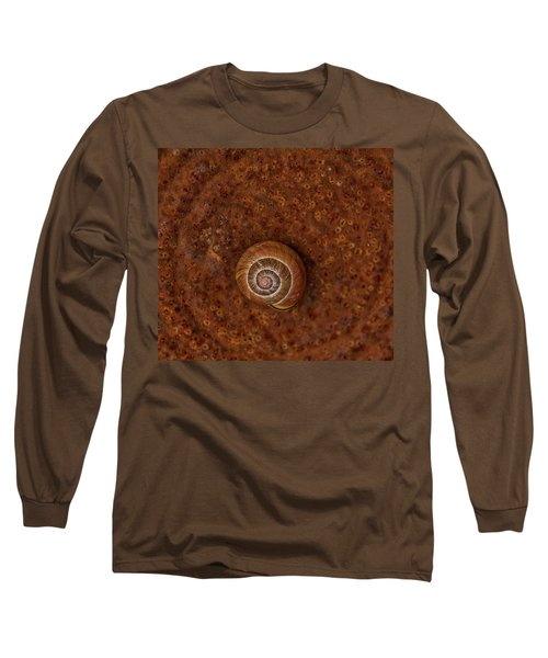 Snail On A Tin Can Long Sleeve T-Shirt