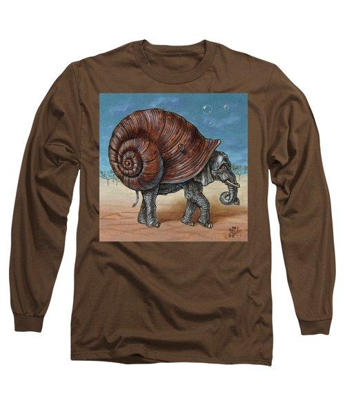 Snailephant Long Sleeve T-Shirt