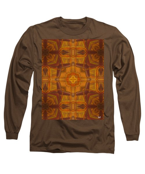 Snake Cross Long Sleeve T-Shirt by Maria Watt