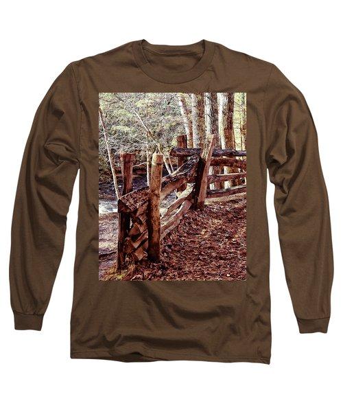 Snake Fence Long Sleeve T-Shirt