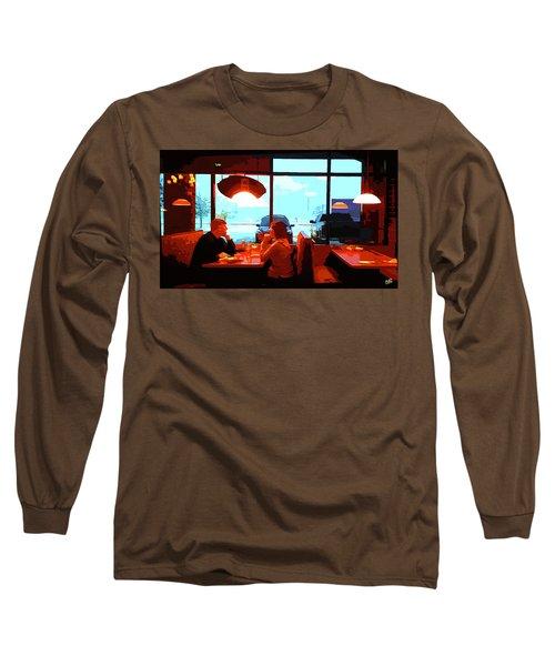 Snowy Date Long Sleeve T-Shirt