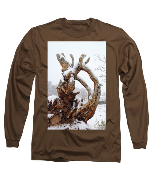 Snowy Roots Long Sleeve T-Shirt
