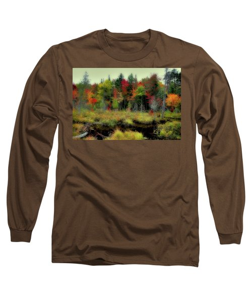 Long Sleeve T-Shirt featuring the photograph Soft Autumn Color by David Patterson
