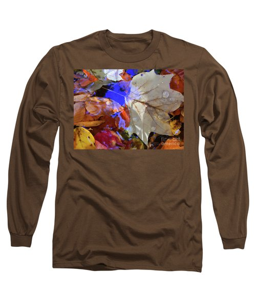 Soft Light Leaves Long Sleeve T-Shirt by Todd Breitling