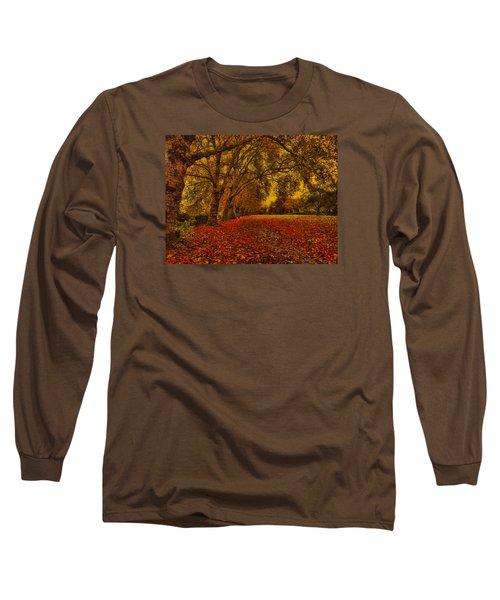 Softly Falls The Evening  Light Long Sleeve T-Shirt