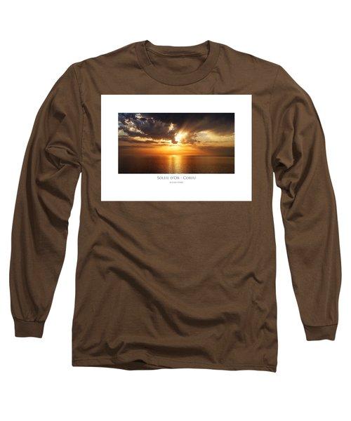 Soleil D'or - Corfu Long Sleeve T-Shirt