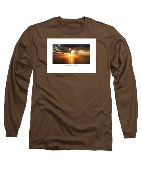 Soleil D'or - Corfu Long Sleeve T-Shirt