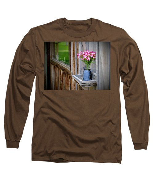 Long Sleeve T-Shirt featuring the photograph Something Old Something New by AJ Schibig