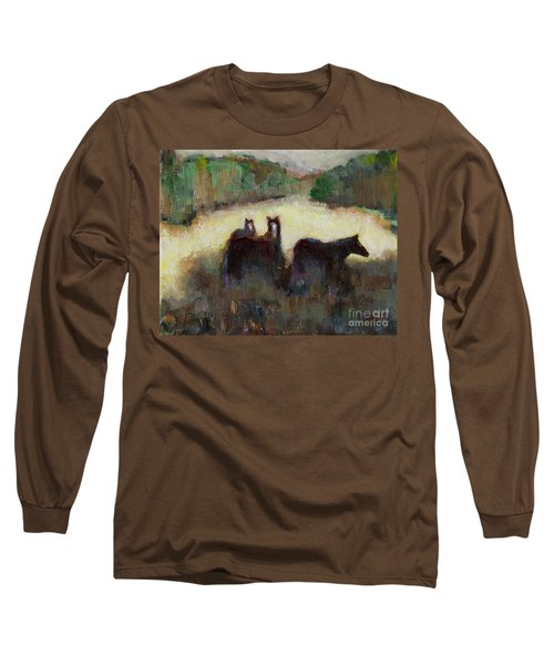 Sometimes We Need To Get Out Of The Heat Long Sleeve T-Shirt