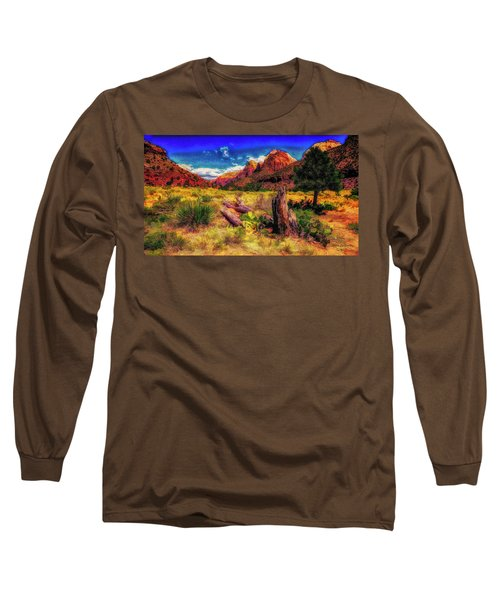 Somewhere In Utah ... Long Sleeve T-Shirt