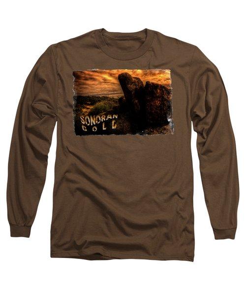 Sonoran Desert Early Morning Long Sleeve T-Shirt