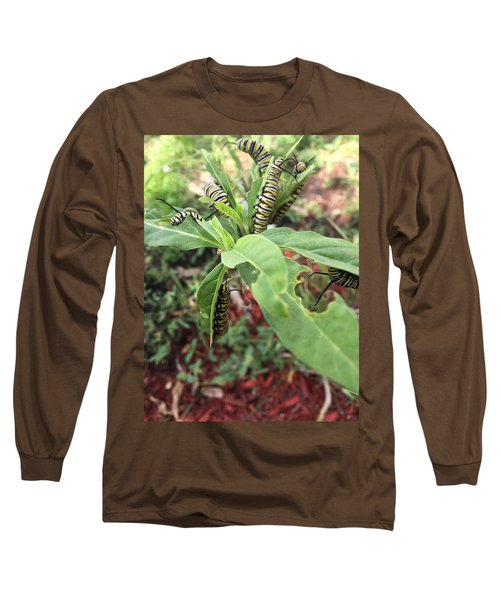 Soon To Change Long Sleeve T-Shirt by Audrey Robillard