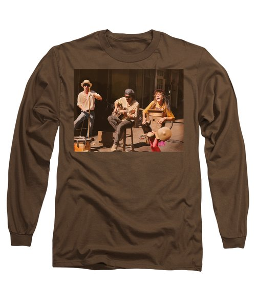 Sounds Of New Orleans Long Sleeve T-Shirt