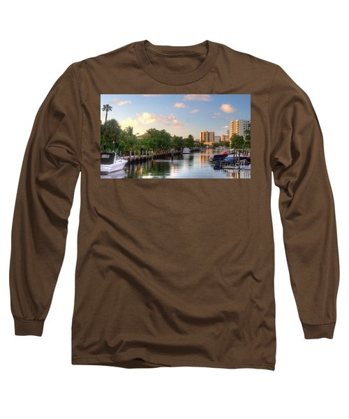 South Florida Canal Living Long Sleeve T-Shirt