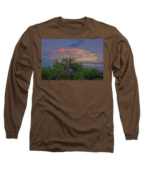 Long Sleeve T-Shirt featuring the photograph Southeast Of Sunset H38 by Mark Myhaver