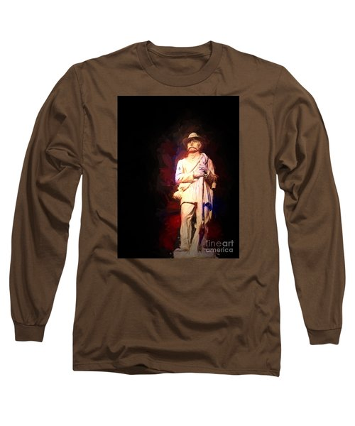 Southern Gent Long Sleeve T-Shirt by Ken Frischkorn
