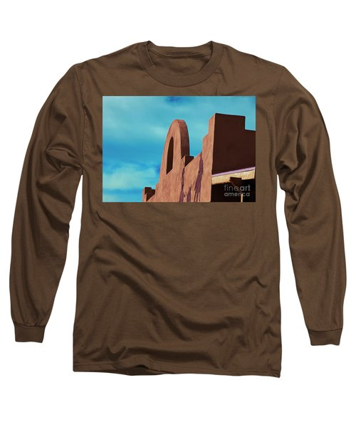 Southwest Architecture Long Sleeve T-Shirt by Anne Rodkin