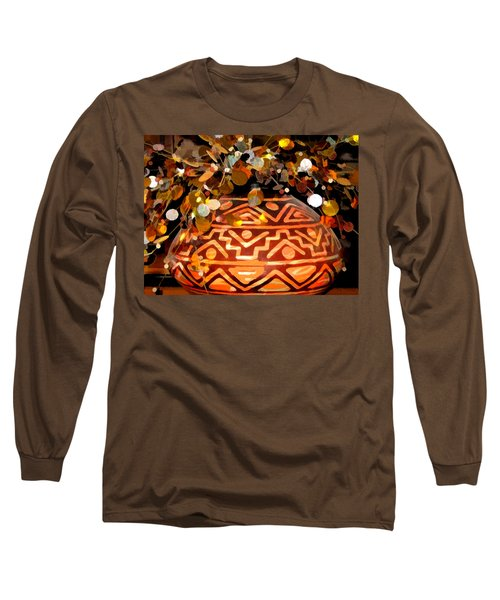 Southwest Vase Art Long Sleeve T-Shirt