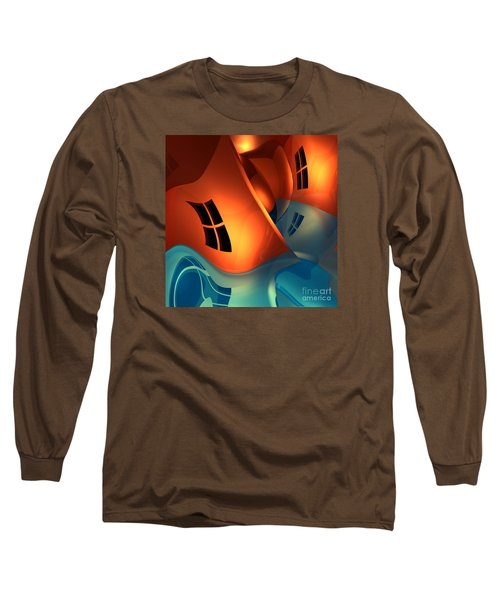 Space Curvature Long Sleeve T-Shirt