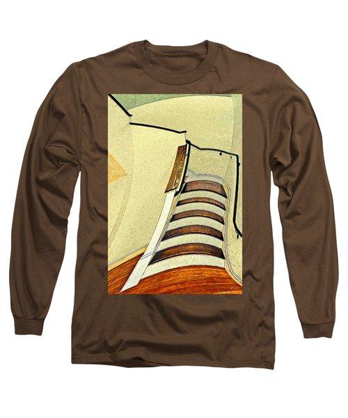 Space Geometry #1 Long Sleeve T-Shirt