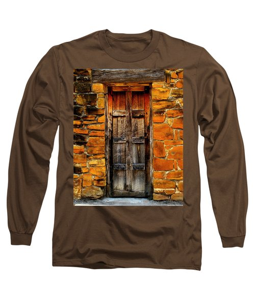 Spanish Mission Door Long Sleeve T-Shirt