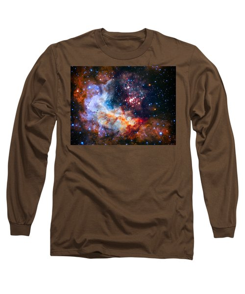 Sparkling Star Cluster Westerlund 2 Long Sleeve T-Shirt