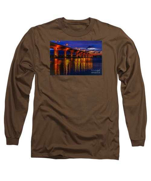 Sparkling Water Long Sleeve T-Shirt by Tom Claud
