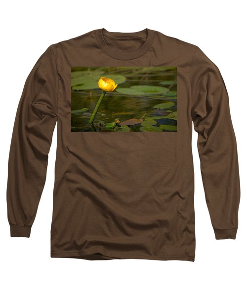 Long Sleeve T-Shirt featuring the photograph Spatterdock by Jouko Lehto