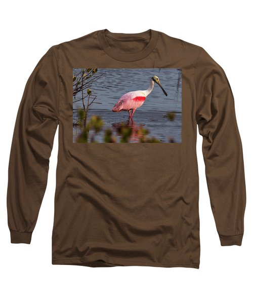 Spoonbill Fishing Long Sleeve T-Shirt