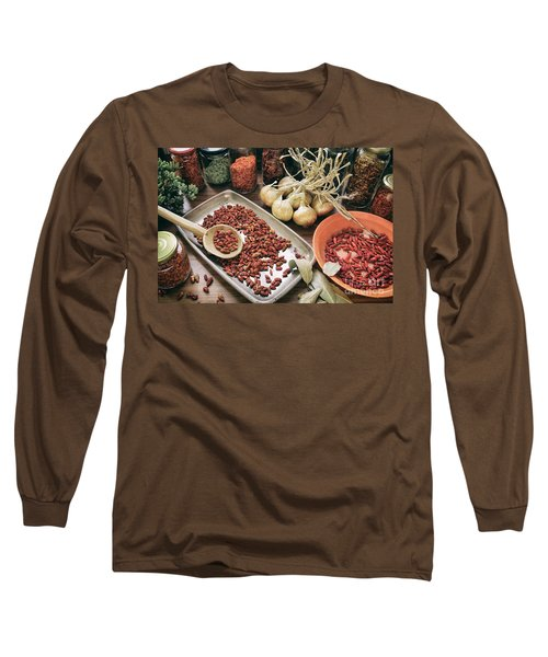 Spices And Herbs Long Sleeve T-Shirt