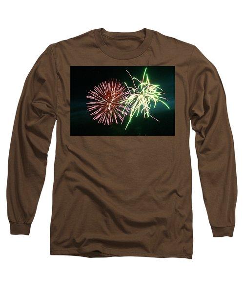Spider On Flower Long Sleeve T-Shirt