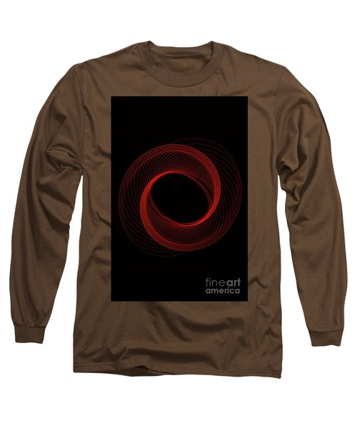 Spiral Red Long Sleeve T-Shirt