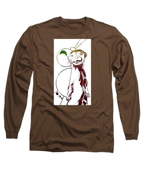 Spirit Animal . Otter Long Sleeve T-Shirt
