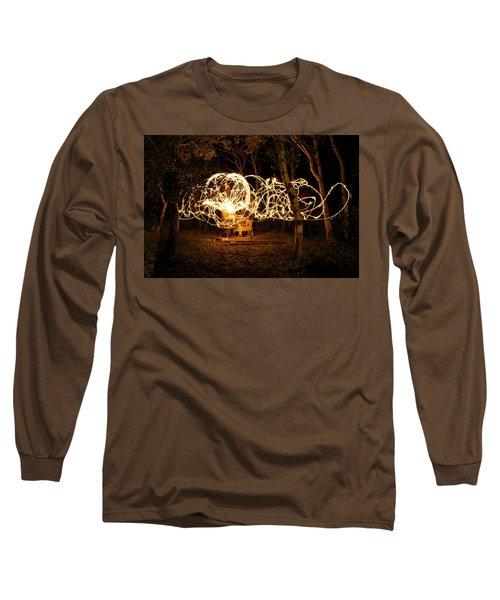 Spirit Dance Long Sleeve T-Shirt by Ellery Russell