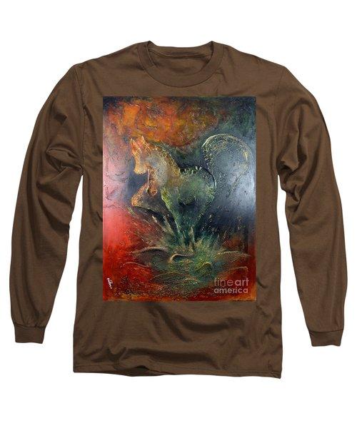 Spirit Of Mustang Long Sleeve T-Shirt