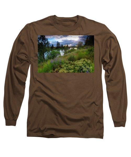 Spokane River Spring Long Sleeve T-Shirt