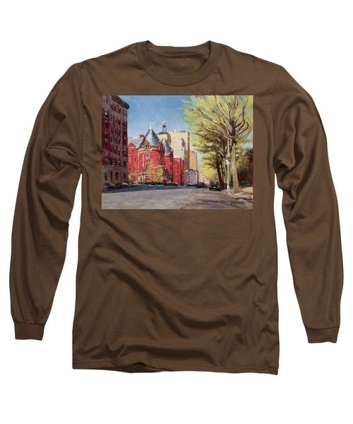 Spring Afternoon, Central Park West Long Sleeve T-Shirt