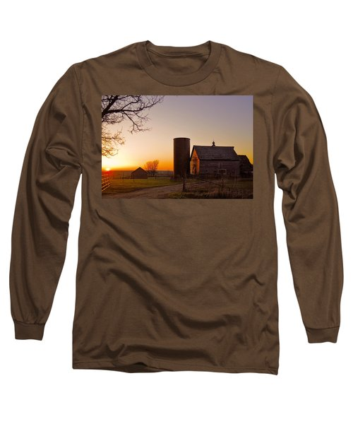 Spring At Birch Barn 2 Long Sleeve T-Shirt by Bonfire Photography