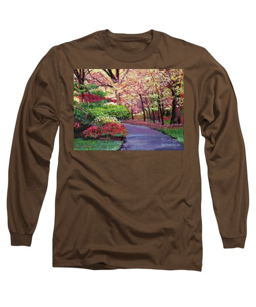 Spring Blossoms Impressions Long Sleeve T-Shirt
