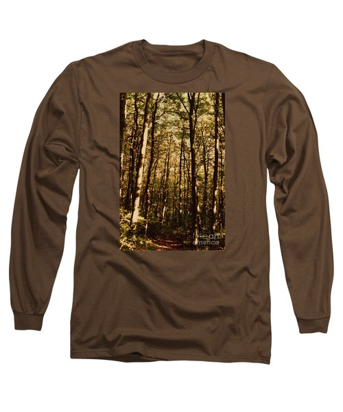 Long Sleeve T-Shirt featuring the photograph Spring Forest by Jean Bernard Roussilhe