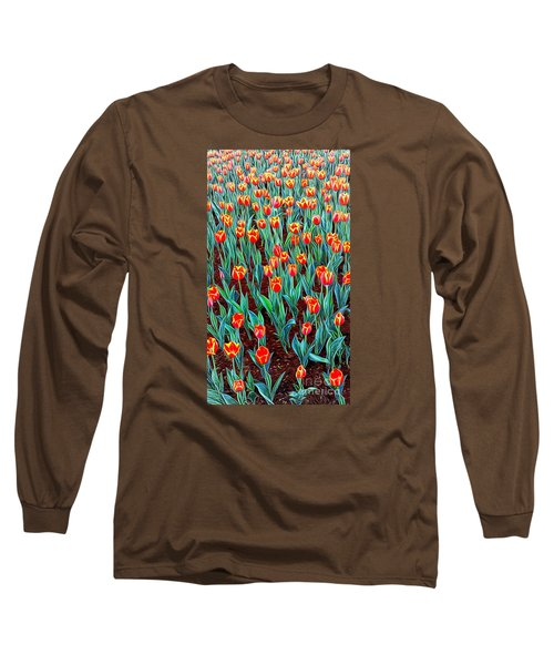 Spring In Holland Long Sleeve T-Shirt by Ian Gledhill